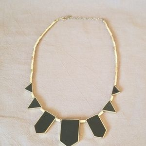 Jewelry - Acrylic and Metal Geometric Necklace